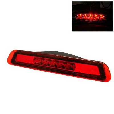 Headlights & Tail Lights - Third Brake Lights - Spyder Auto - Toyota 4Runner Spyder LED Third Brake Light - Red - BL-CL-T4R03-LED-RD