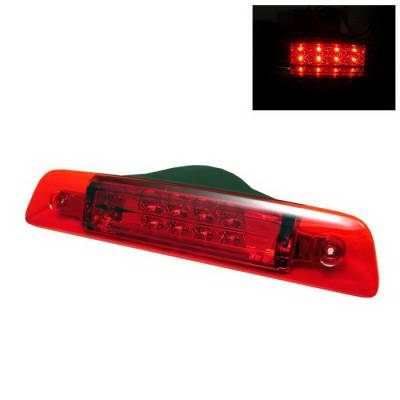Headlights & Tail Lights - Third Brake Lights - Spyder Auto - Toyota 4Runner Spyder LED Third Brake Light - Red - BL-CL-T4R96-LED-RD