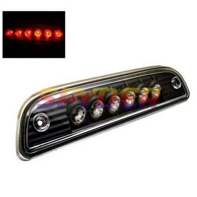 Headlights & Tail Lights - Third Brake Lights - Spyder Auto - Toyota Tacoma Spyder LED Third Brake Light - Black - BL-CL-TTA95-LED-BK