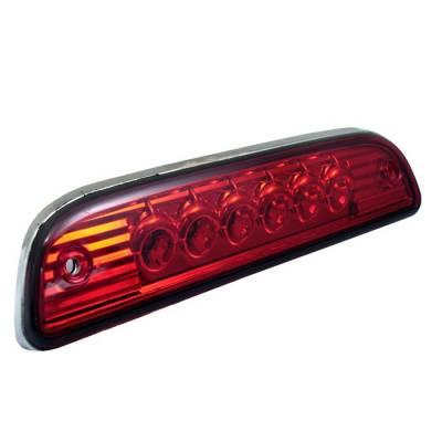 Headlights & Tail Lights - Third Brake Lights - Spyder - Toyota Tacoma Spyder LED 3RD Brake LighT-Red - BL-CL-TTA95-LED-RD