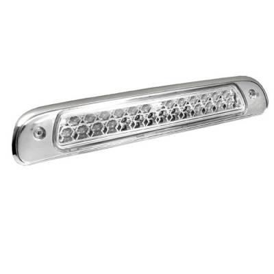 Headlights & Tail Lights - Third Brake Lights - Spyder - Toyota Tundra Spyder LED 3RD Brake Light - Chrome - BL-CL-TTU00-LED-C