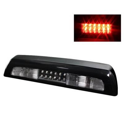 Headlights & Tail Lights - Third Brake Lights - Spyder Auto - Toyota Tundra Spyder LED Third Brake Light - Black - BL-CL-TTU07-LED-BK