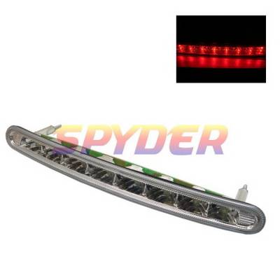 Headlights & Tail Lights - Third Brake Lights - Spyder Auto - Volkswagen Beetle Spyder LED Third Brake Light - Chrome - BL-CL-VWB98-LED-C
