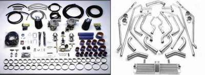 Performance Parts - Turbo Charger Kit - STS Turbo - STS Turbo Twin Turbo System Tuner - Includes A Front Mounted Air-To-Air Intercooler - But Not A Blow-Off Valve - COR6005T