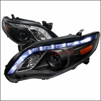 Civic 4Dr - Headlights & Tail Lights - Headlights