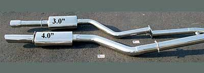 Car Parts - Exhaust - Custom Fit Exhaust