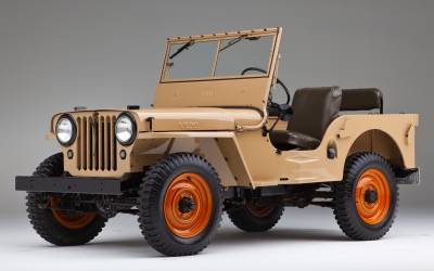 Shop by Vehicle - Jeep - CJ2