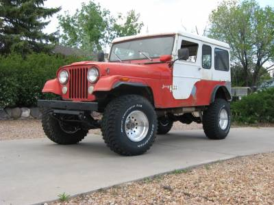 Shop by Vehicle - Jeep - CJ6