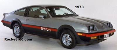 Shop by Vehicle - Oldsmobile - Firenza