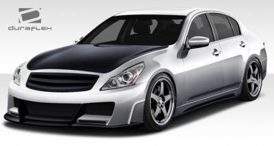 G25 - Body Kits - Extreme Dimensions 16 - Infiniti G25 Duraflex Elite Body Kit - 4 Piece - 108296