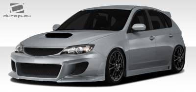 WRX - Body Kits - Extreme Dimensions - Subaru WRX Duraflex C-Speed 3 Body Kit - 4 Piece - 108007