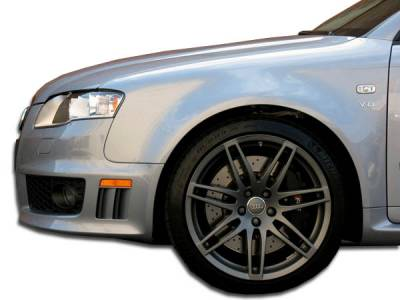 S4 - Fenders - Extreme Dimensions - Audi S4 Duraflex RS4 Wide Body Front Fenders - 2 Piece - 105320