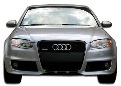 S4 - Front Bumper - Extreme Dimensions - Audi S4 Duraflex RS4 Wide Body Front Bumper Cover - 1 Piece - 105317
