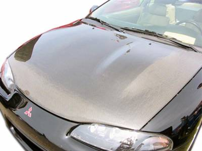 Eclipse - Hoods - Extreme Dimensions - Mitsubishi Eclipse Carbon Creations OEM Hood - 1 Piece - 101579