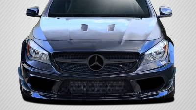 CLA - Front Bumper - Carbon Creations - Mercedes-Benz CLA Carbon Creations Black Series Look Wide Body Front Bumper Accessories - 6 Piece - 112026