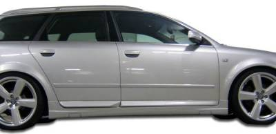 A4 - Side Skirts - Extreme Dimensions 16 - Audi A4 Duraflex OTG Side Skirts Rocker Panels - 2 Piece - 103224
