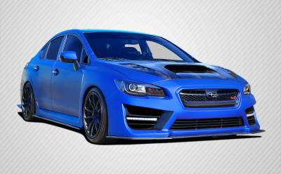 WRX - Body Kits - Carbon Creations - Subaru WRX Carbon Creations NBR Concept Body Kit - 9 Piece - 109962