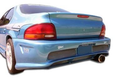 Cirrus - Rear Bumper - Extreme Dimensions 16 - Chrysler Cirrus Duraflex Kombat Rear Bumper Cover - 1 Piece - 101568