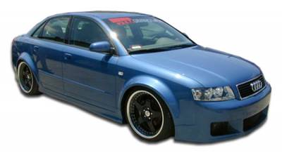 A4 - Side Skirts - Extreme Dimensions 16 - Audi A4 Duraflex R-1 Side Skirts Rocker Panels - 2 Piece - 100290