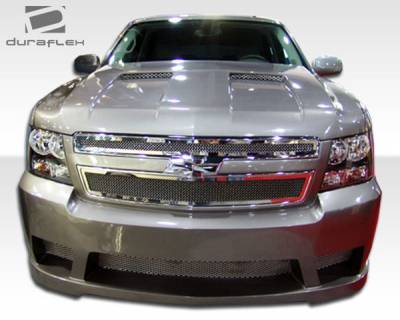 Avalanche - Front Bumper - Extreme Dimensions 16 - Chevrolet Avalanche Duraflex Hot Wheels Front Bumper Cover - 1 Piece - 103379