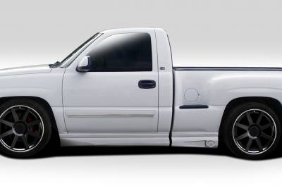 Duraflex - GMC Sierra Duraflex BT-1 Side Skirt Rocker Panels - 4 Piece - 112125