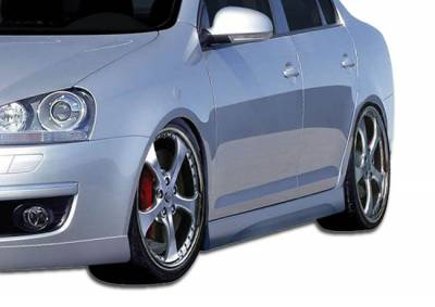 Jetta - Side Skirts - Extreme Dimensions - Volkswagen Jetta Duraflex Executive Side Skirts Rocker Panels - 2 Piece - 106633