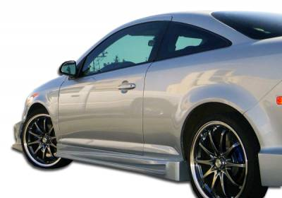 Cobalt 2Dr - Side Skirts - Extreme Dimensions 16 - Chevrolet Cobalt Duraflex Bomber Side Skirts Rocker Panels - 2 Piece - 104917