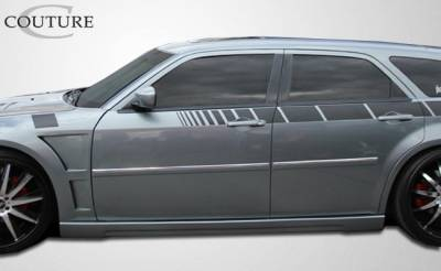300 - Side Skirts - Extreme Dimensions 16 - Chrysler 300 Couture Luxe Side Skirts Rocker Panels - 2 Piece - 104809