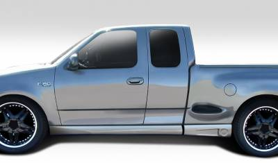 F150 - Side Skirts - Extreme Dimensions 16 - Ford F150 Duraflex BT-1 Side Skirts Rocker Panels - 4 Piece - 112129