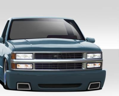C/K Truck - Front Bumper - Extreme Dimensions 16 - Chevrolet CK Truck Duraflex SS Look Front Bumper Cover - 1 Piece - 109530
