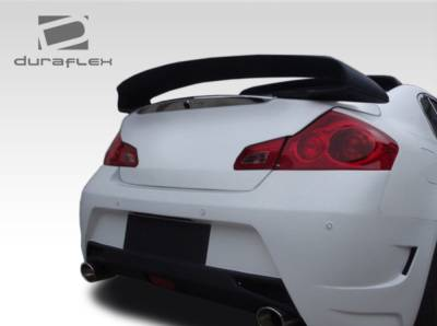 Spoilers - Custom Wing - Extreme Dimensions - Infiniti G35 4DR Duraflex Elite Rear Wing Trunk Lid Spoiler - 1 Piece - 107669