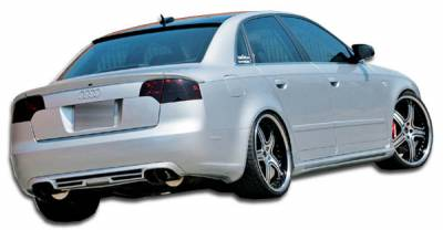 A4 - Side Skirts - Extreme Dimensions 16 - Audi A4 Duraflex A-Tech Side Skirts Rocker Panels - 2 Piece - 105032