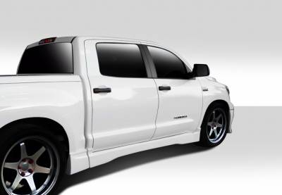Tundra - Side Skirts - Extreme Dimensions 16 - Toyota Tundra Duraflex BT-1 Side Skirts Rocker Panels - 4 Piece - 112130