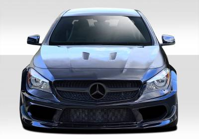 CLA - Front Bumper - Extreme Dimensions - Mercedes-Benz CLA Duraflex Black Series Look Wide Body Front Bumper Cover - 7 Piece - 112011