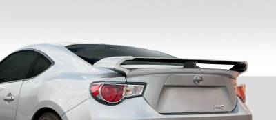 Spoilers - Custom Wing - Extreme Dimensions - Subaru BRZ Duraflex W-1 Rear Wing Trunk Lid Spoiler - 1 Piece - 109972