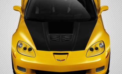 Corvette - Hoods - Carbon Creations - Chevrolet Corvette Carbon Creations Stingray Z Hood - 1 Piece - 109917