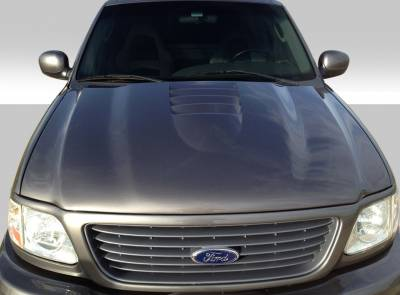 Expedition - Hoods - Extreme Dimensions 16 - Ford Expedition Duraflex CV-X Hood - 1 Piece - 109259