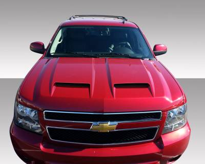 Avalanche - Hoods - Extreme Dimensions 16 - Chevrolet Avalanche Duraflex CV-X Hood - 1 Piece - 109256