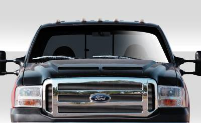 Excursion - Hoods - Extreme Dimensions 16 - Ford Excursion Duraflex CV-X Hood - 1 Piece - 109247