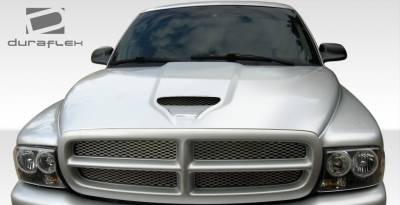 Dakota - Hoods - Extreme Dimensions 16 - Dodge Dakota Duraflex SS Hood - 1 Piece - 108236