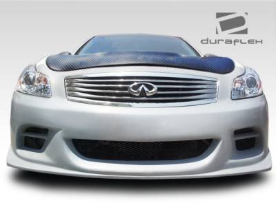 G35 4Dr - Front Bumper - Extreme Dimensions - Infiniti G37 4DR Duraflex TS-1 Front Bumper Cover - 1 Piece - 107672