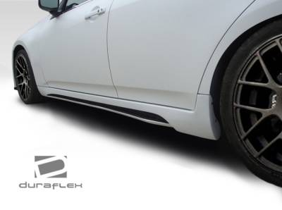 G25 - Side Skirts - Extreme Dimensions 16 - Infiniti G25 Duraflex Elite Side Skirts Rocker Panels - 2 Piece - 107667