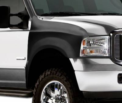 F250 - Fenders - Extreme Dimensions 16 - Ford F250 Duraflex Off Road Bulge Front Fenders - 2 Piece - 106464