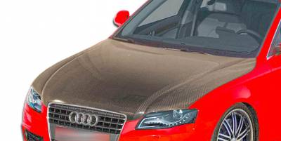 A4 - Hoods - Extreme Dimensions 16 - Audi A4 Carbon Creations OEM Hood - 1 Piece - 106274
