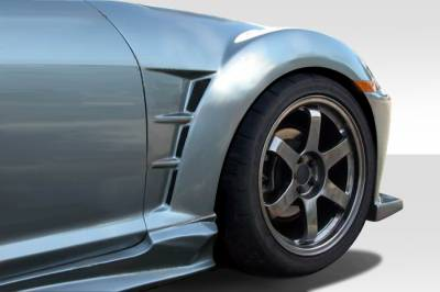 RX8 - Fenders - Extreme Dimensions 16 - Mazda RX-8 Duraflex M-Speed Front Fenders - 2 Piece - 109723
