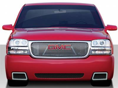 Sierra - Front Bumper - Extreme Dimensions 16 - GMC Sierra Duraflex SS Look Front Bumper Cover - 1 Piece - 109533