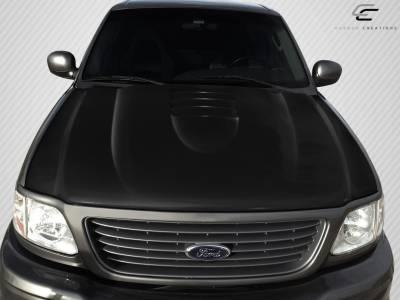 Expedition - Hoods - Extreme Dimensions 16 - Ford Expedition Carbon Creations CV-X Hood - 1 Piece - 109263