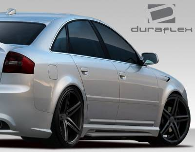 A6 - Side Skirts - Extreme Dimensions 16 - Audi A6 Duraflex CT-R Side Skirt Rocker Panels - 2 Piece - 108959