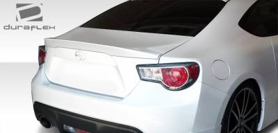 Spoilers - Custom Wing - Extreme Dimensions - Subaru BRZ Duraflex X-5 Rear Wing Trunk Lid Spoiler - 1 Piece - 108489