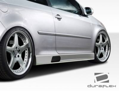 Jetta - Side Skirts - Extreme Dimensions - Volkswagen Jetta Duraflex PR-D Side Skirts Rocker Panels - 2 Piece - 108336